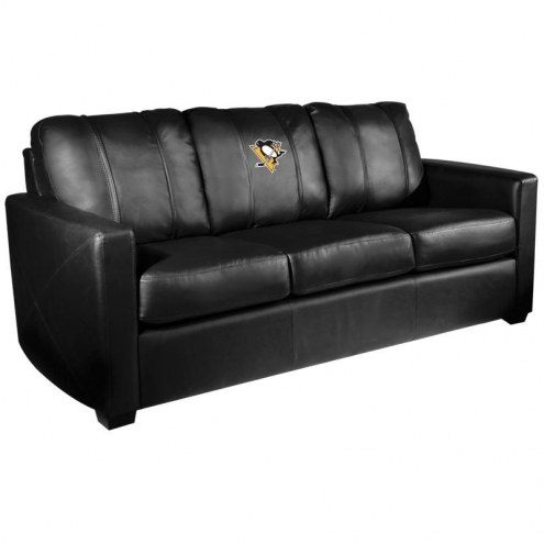 Pittsburgh Penguins XZipit Silver Sofa