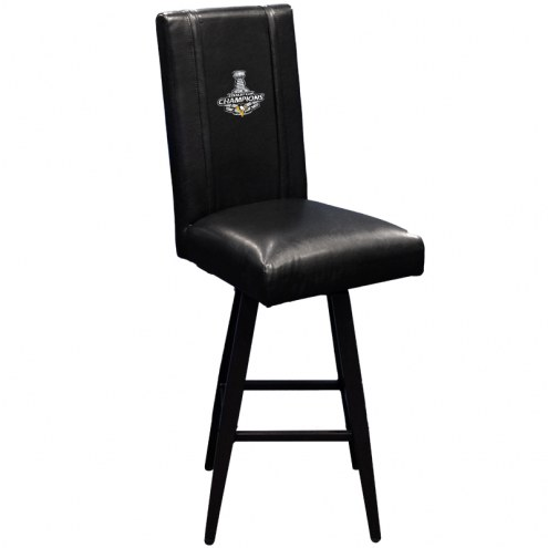 Pittsburgh Penguins XZipit Swivel Bar Stool 2000 with Champs Logo