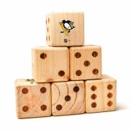 Pittsburgh Penguins Yard Dice