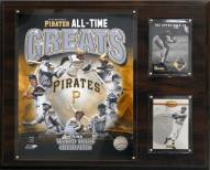 """Pittsburgh Pirates 12"""" x 15"""" All-Time Great Photo Plaque"""