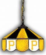 "Pittsburgh Pirates 14"" Glass Pub Lamp"