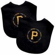 Pittsburgh Pirates 2-Pack Baby Bibs