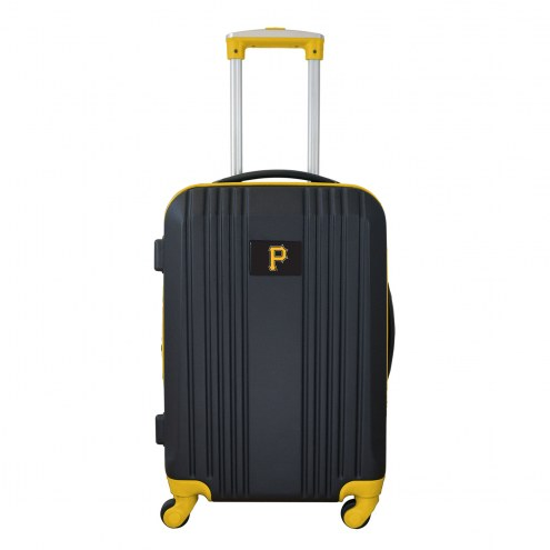 """Pittsburgh Pirates 21"""" Hardcase Luggage Carry-on Spinner"""