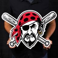"Pittsburgh Pirates 24"" Steel Logo Sign"