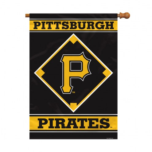 "Pittsburgh Pirates 28"" x 40"" Banner"
