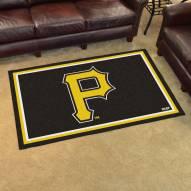 Pittsburgh Pirates 4' x 6' Area Rug
