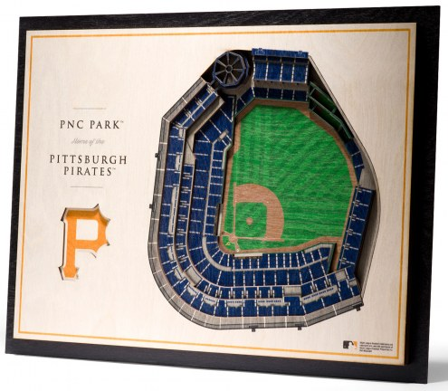 Pittsburgh Pirates 5-Layer StadiumViews 3D Wall Art