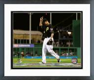 Pittsburgh Pirates A.J. Burnett 2015 Action Framed Photo