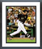 Pittsburgh Pirates Andrew Lambo 2014 Action Framed Photo