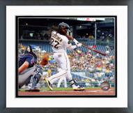 Pittsburgh Pirates Andrew McCutchen 2014 Action Framed Photo