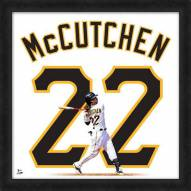 Pittsburgh Pirates Andrew McCutchen Uniframe Framed Jersey Photo