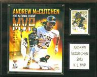 "Pittsburgh Pirates Andrew McCuthcen 12"" x 15"" Player Plaque"