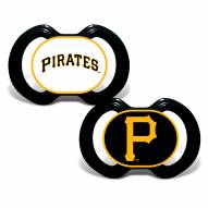 Pittsburgh Pirates Baby Pacifier 2-Pack