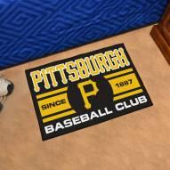 Pittsburgh Pirates Baseball Club Starter Rug