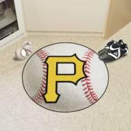 Pittsburgh Pirates Baseball Rug