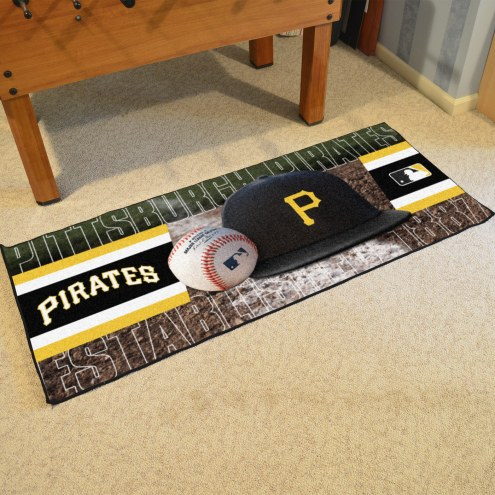 Pittsburgh Pirates Baseball Runner Rug