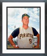 Pittsburgh Pirates Bill Mazeroski Posed Framed Photo