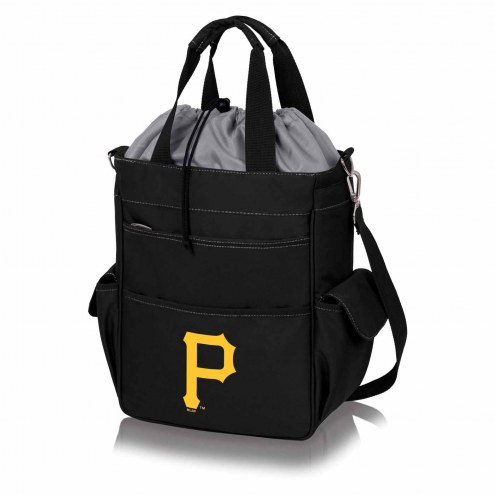 Pittsburgh Pirates Black Activo Cooler Tote