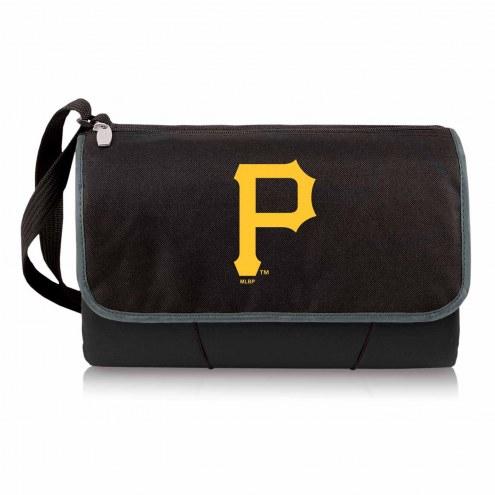 Pittsburgh Pirates Black Blanket Tote