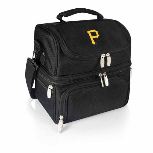 Pittsburgh Pirates Black Pranzo Insulated Lunch Box