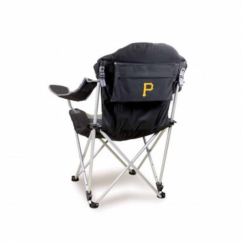 Pittsburgh Pirates Black Reclining Camp Chair