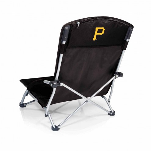 Pittsburgh Pirates Black Tranquility Beach Chair