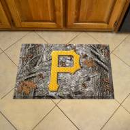 Pittsburgh Pirates Camo Scraper Door Mat