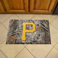 Pittsburgh Pirates Camo Scraper Door Mat