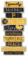 Pittsburgh Pirates Celebrations Stack Sign
