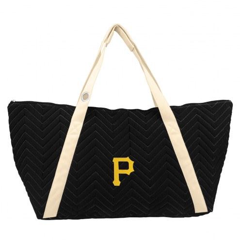 Pittsburgh Pirates Chevron Stitch Weekender Bag