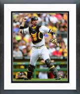 Pittsburgh Pirates Chris Stewart 2014 Action Framed Photo