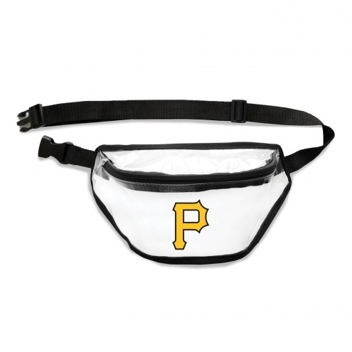 Pittsburgh Pirates Clear Fanny Pack
