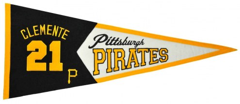 Pittsburgh Pirates Clemente Legends Pennant