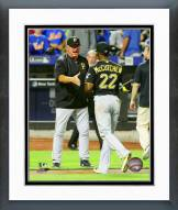 Pittsburgh Pirates Clint Hurdle 2015 Action Framed Photo