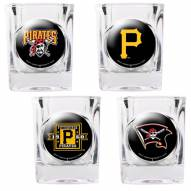 Pittsburgh Pirates Collector's Shot Glass Set