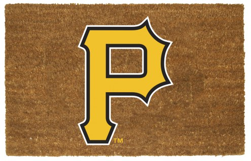 Pittsburgh Pirates Colored Logo Door Mat