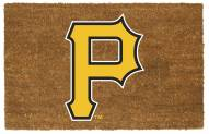 Pittsburgh Pirates Colored Logo Door Mat