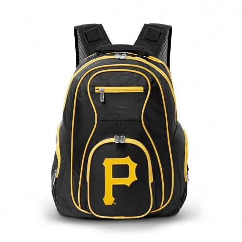 MLB Pittsburgh Pirates Colored Trim Premium Laptop Backpack