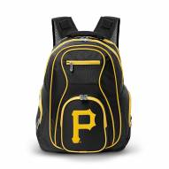 MLB Pittsburgh Pirates Colored Trim Premium Laptop Backpack