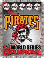 Pittsburgh Pirates Commemorative Throw Blanket