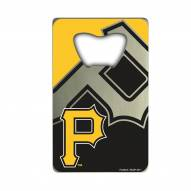 Pittsburgh Pirates Credit Card Style Bottle Opener