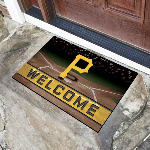 Pittsburgh Pirates Crumb Rubber Door Mat