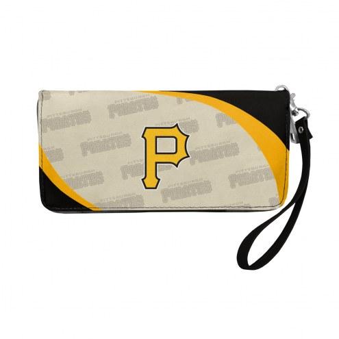 Pittsburgh Pirates Curve Zip Organizer Wallet