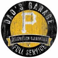 Pittsburgh Pirates Dad's Garage Sign