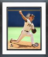 Pittsburgh Pirates Doug Drabek Pitching Framed Photo