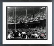 Pittsburgh Pirates Forbes Field 1960 World Series Framed Photo