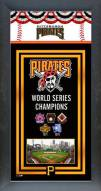 Pittsburgh Pirates Framed Championship Print