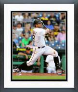 Pittsburgh Pirates Francisco Cervelli Action Framed Photo