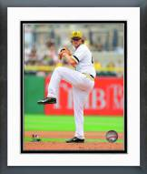 Pittsburgh Pirates Gerrit Cole Action Framed Photo