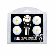 Pittsburgh Pirates Golf Ball Gift Set